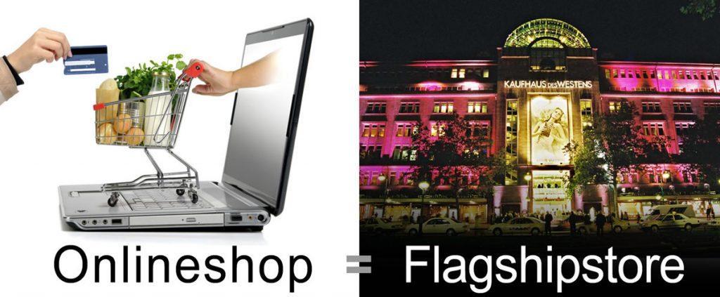 Die Flagshipstores im Handel ist der Online-Shop – Was machen über 70% der Portalbetreiber nur schon in der Basis falsch?